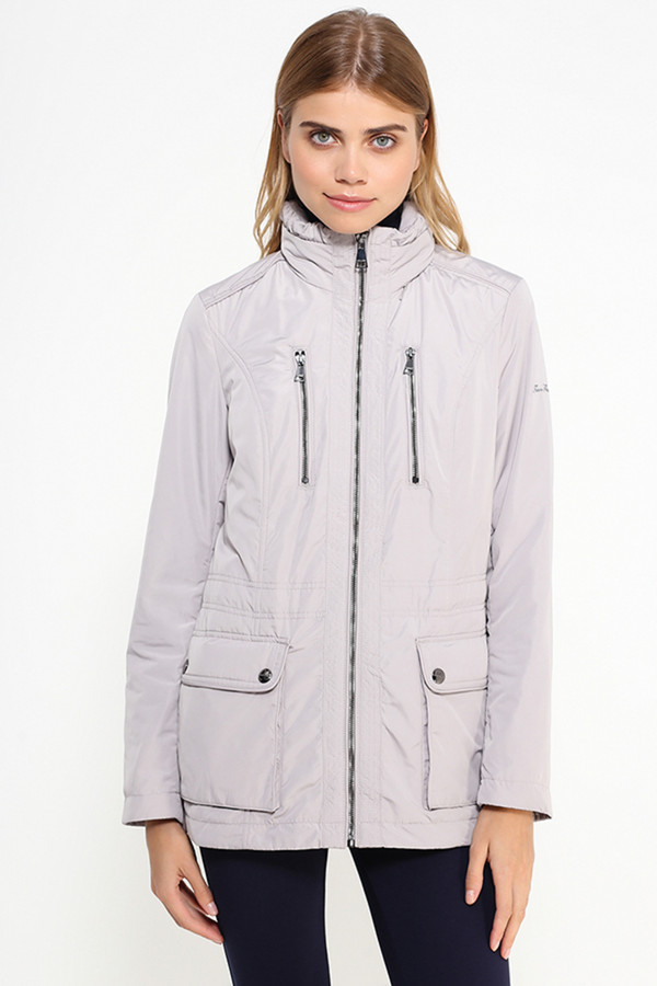 Куртка FINN FLAREКуртки<br><br><br>Размер RU: 48<br>Пол: Женский<br>Возраст: Взрослый<br>Материал: полиэстер 100%<br>Цвет: Серый