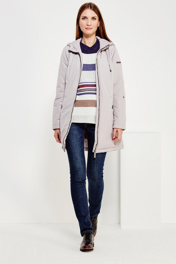 Куртка FINN FLAREКуртки<br><br><br>Размер RU: 46<br>Пол: Женский<br>Возраст: Взрослый<br>Материал: полиэстер 100%<br>Цвет: Серый