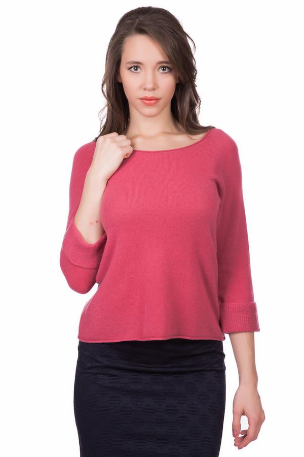 Пуловер CommaПуловеры<br><br><br>Размер RU: 46<br>Пол: Женский<br>Возраст: Взрослый<br>Материал: шерсть 88%, кашемир 12%<br>Цвет: Красный