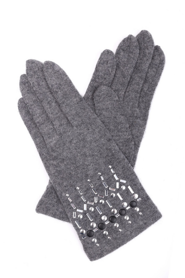 Перчатки RoecklПерчатки<br><br><br>Размер RU: один размер<br>Пол: Женский<br>Возраст: Взрослый<br>Материал: шерсть 80%, нейлон 20%<br>Цвет: Серый