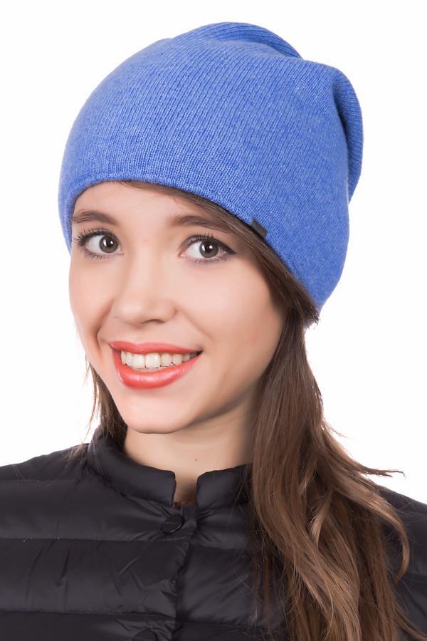 Шапка WegenerШапки<br><br><br>Размер RU: один размер<br>Пол: Женский<br>Возраст: Взрослый<br>Материал: шерсть 90%, полиамид 10%<br>Цвет: Синий