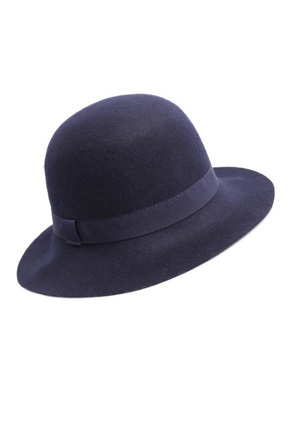 Шляпа WegenerШляпы<br><br><br>Размер RU: один размер<br>Пол: Женский<br>Возраст: Взрослый<br>Материал: шерсть 100%<br>Цвет: Синий