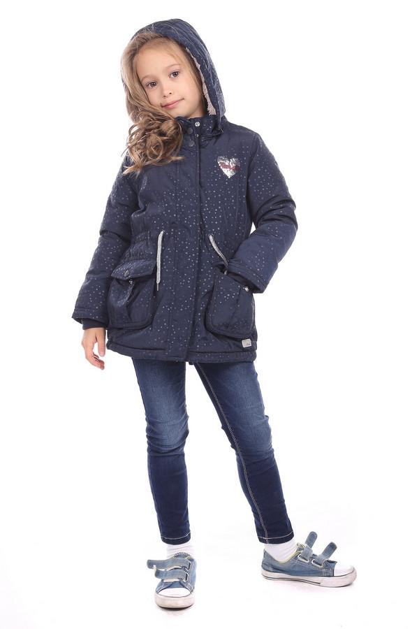 Куртка s.OliverКуртки<br><br><br>Размер RU: 28;104<br>Пол: Женский<br>Возраст: Детский<br>Материал: полиэстер 100%, Состав_подкладка полиэстер 100%<br>Цвет: Синий