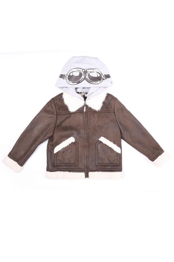 Куртка SarabandaКуртки<br><br><br>Размер RU: 28;110<br>Пол: Мужской<br>Возраст: Детский<br>Материал: полиэстер 100%, Состав_подкладка полиэстер 100%<br>Цвет: Разноцветный
