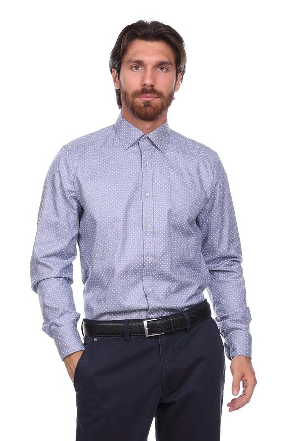 Рубашка с длинным рукавом OlympДлинный рукав<br><br><br>Размер RU: 38<br>Пол: Мужской<br>Возраст: Взрослый<br>Материал: эластан 3%, хлопок 97%<br>Цвет: Белый