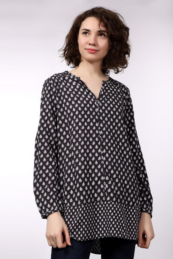 Блузa Tom TailorБлузы<br><br><br>Размер RU: 42<br>Пол: Женский<br>Возраст: Взрослый<br>Материал: вискоза 100%<br>Цвет: Белый
