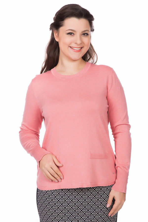 Пуловер Gerry WeberПуловеры<br><br><br>Размер RU: 48<br>Пол: Женский<br>Возраст: Взрослый<br>Материал: эластан 3%, полиамид 15%, вискоза 82%<br>Цвет: Розовый