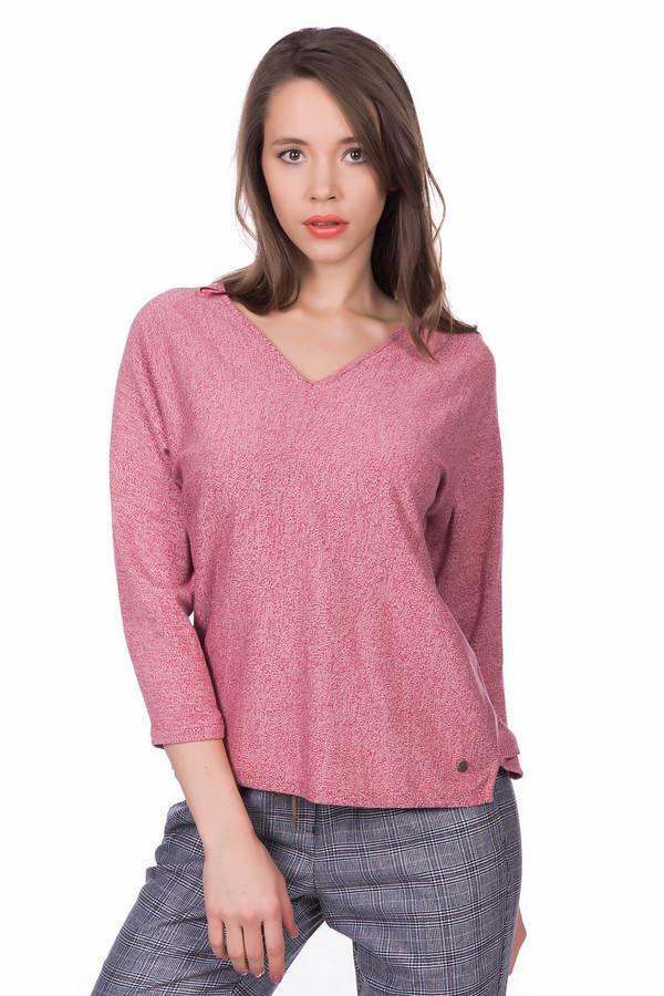 Пуловер Tom TailorПуловеры<br><br><br>Размер RU: 38-40<br>Пол: Женский<br>Возраст: Взрослый<br>Материал: хлопок 60%, вискоза 40%<br>Цвет: Красный