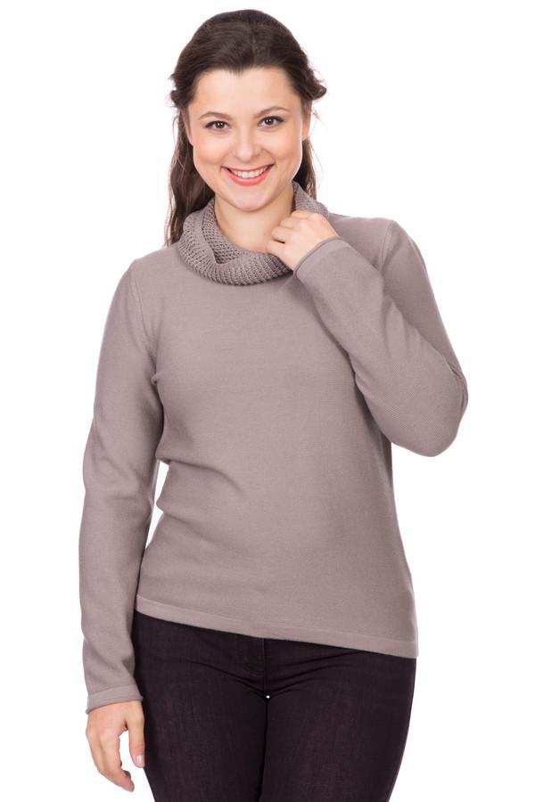 Пуловер Rabe collectionПуловеры<br><br><br>Размер RU: 50<br>Пол: Женский<br>Возраст: Взрослый<br>Материал: полиамид 15%, полиакрил 40%, модал 45%<br>Цвет: Бежевый