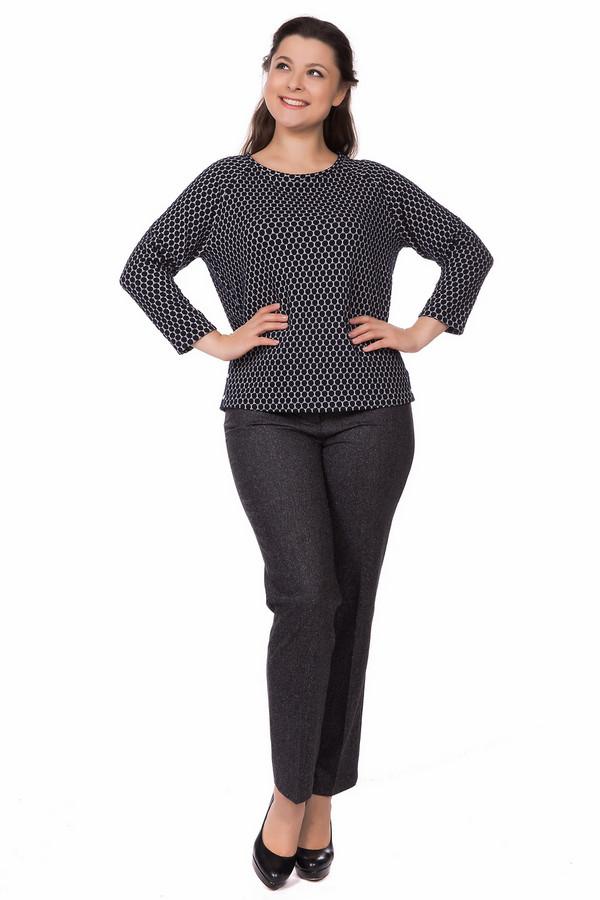 Пуловер Gerry WeberПуловеры<br><br><br>Размер RU: 46<br>Пол: Женский<br>Возраст: Взрослый<br>Материал: эластан 5%, вискоза 15%, хлопок 27%, полиэстер 53%<br>Цвет: Серый