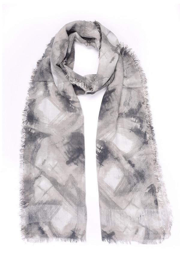 женский шарф codello, белый