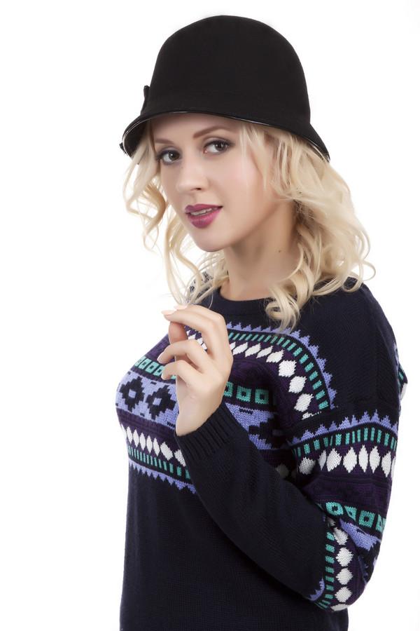 Шляпа WegenerШляпы<br>Женственная черная шляпа Wegener с узкими полями. Изделие дополнено декором в виде банта. Поля и бант оформлены лаковой оторочкой. Без подкладки.<br><br>Размер RU: один размер<br>Пол: Женский<br>Возраст: Взрослый<br>Материал: шерсть 100%<br>Цвет: Чёрный
