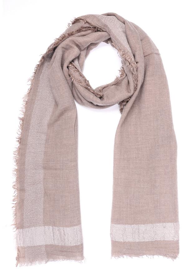 женский шарф codello, серый