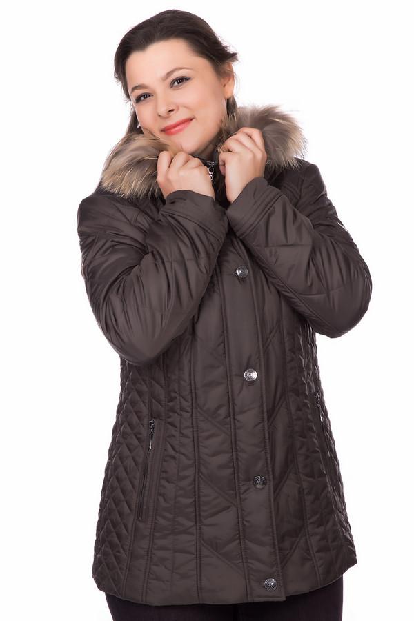Куртка LebekКуртки<br><br><br>Размер RU: 48<br>Пол: Женский<br>Возраст: Взрослый<br>Материал: полиэстер 45%, полиамид 55%, Состав_подкладка полиэстер 100%<br>Цвет: Коричневый