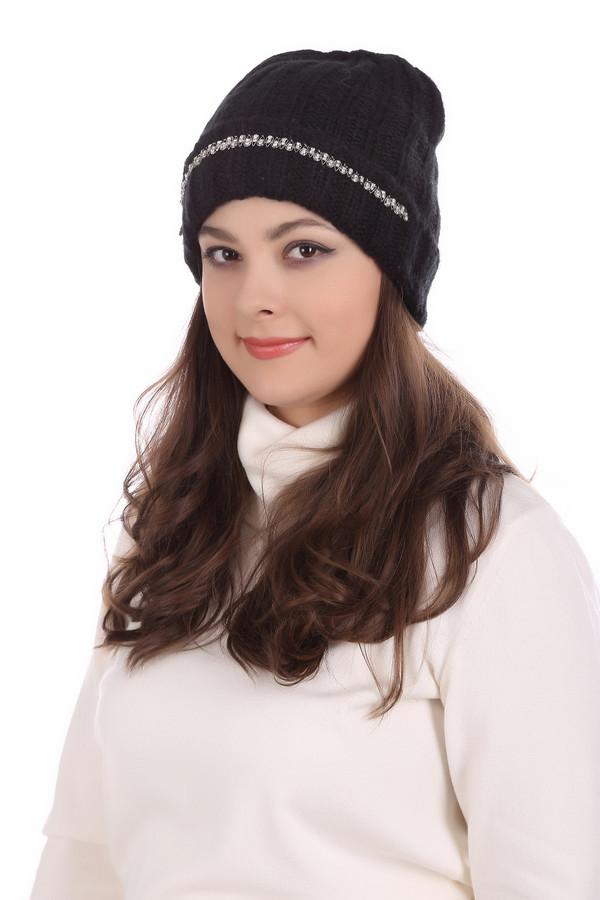 женская шапка seeberger, черная
