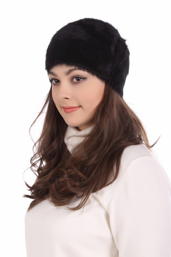 Шляпа SeebergerШляпы<br><br><br>Размер RU: один размер<br>Пол: Женский<br>Возраст: Взрослый<br>Материал: эластан 2%, полиэстер 18%, альпака 80%<br>Цвет: Чёрный