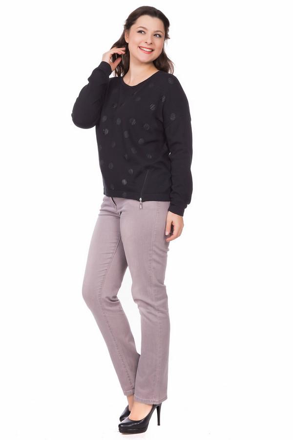Пуловер LebekПуловеры<br><br><br>Размер RU: 46<br>Пол: Женский<br>Возраст: Взрослый<br>Материал: полиамид 15%, вискоза 15%, шерсть 5%, хлопок 55%, полиакрил 10%<br>Цвет: Чёрный