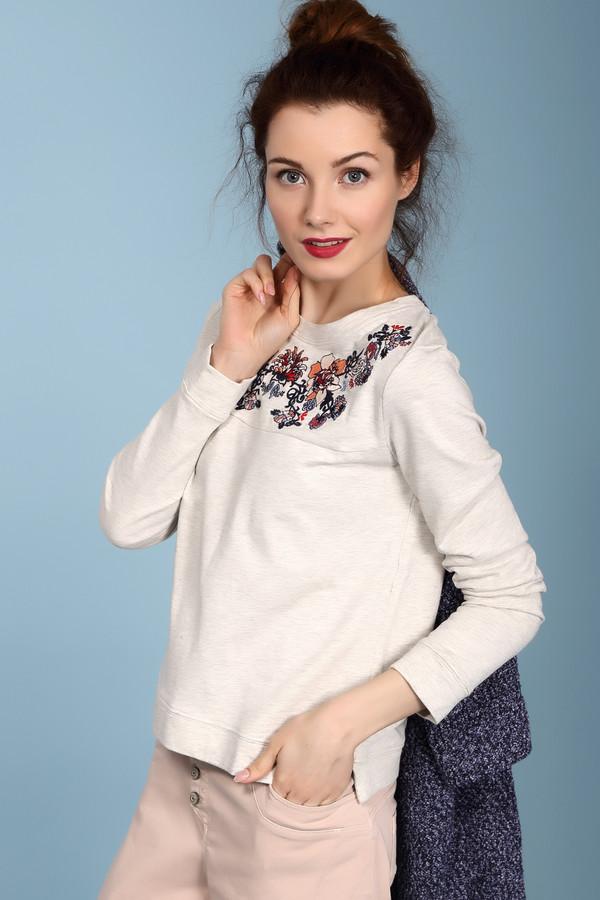 Пуловер Tom TailorПуловеры<br><br><br>Размер RU: 38-40<br>Пол: Женский<br>Возраст: Взрослый<br>Материал: вискоза 1%, хлопок 99%<br>Цвет: Серый