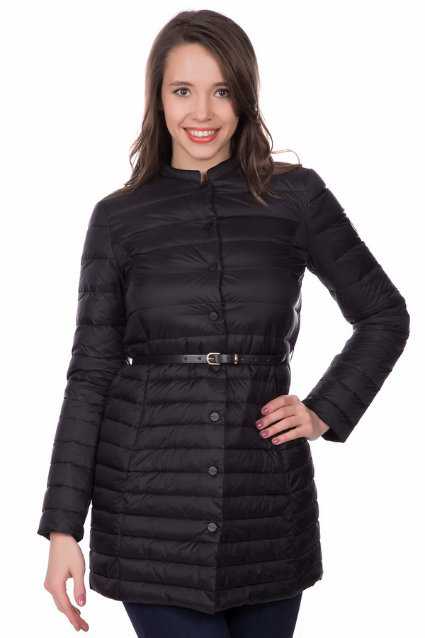 Пальто BeaumontПальто<br><br><br>Размер RU: 48<br>Пол: Женский<br>Возраст: Взрослый<br>Материал: полиэстер 100%, Состав_подкладка полиэстер 100%<br>Цвет: Чёрный
