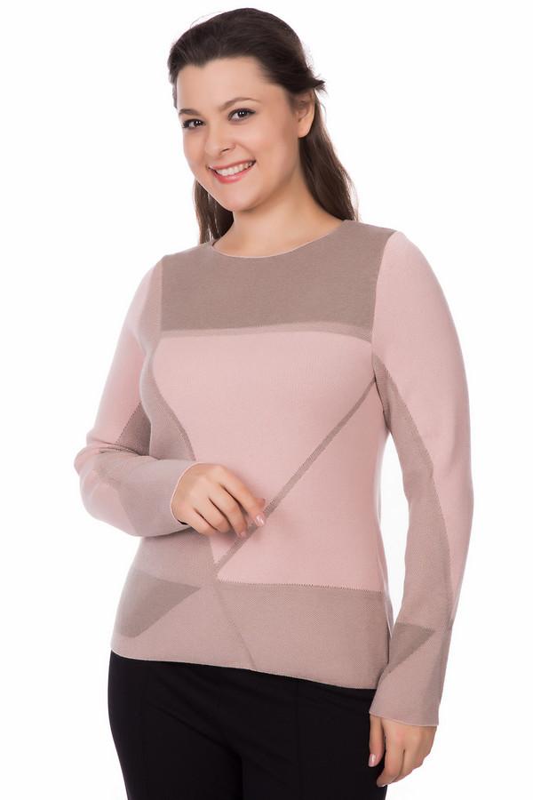 Пуловер Rabe collectionПуловеры<br><br><br>Размер RU: 46<br>Пол: Женский<br>Возраст: Взрослый<br>Материал: полиамид 20%, полиакрил 38%, модал 42%<br>Цвет: Коричневый