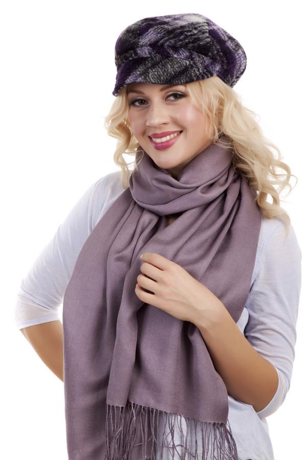 Кепка WegenerКепки<br>Женственная кепка Wegener в фиолетовых тоннах. Изделие классического дизайна выполнено из высококачественного материала, подойдет любому типу лица. Подкладка текстиль.<br><br>Размер RU: один размер<br>Пол: Женский<br>Возраст: Взрослый<br>Материал: шерсть 80%, полиэстер 20%<br>Цвет: Фиолетовый