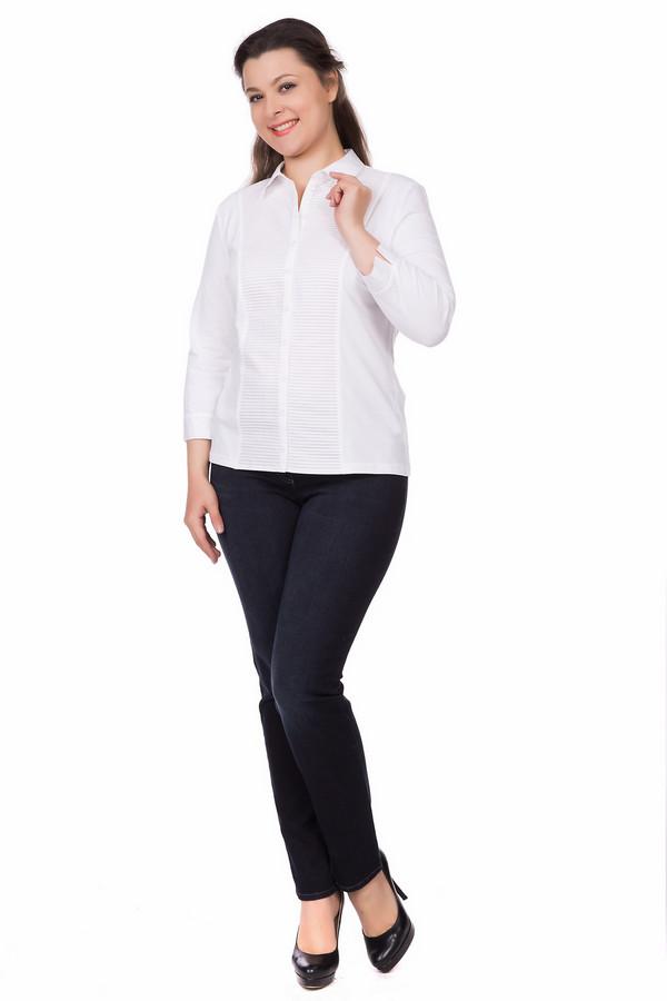 Блузa ErfoБлузы<br><br><br>Размер RU: 46<br>Пол: Женский<br>Возраст: Взрослый<br>Материал: эластан 7%, хлопок 93%<br>Цвет: Белый