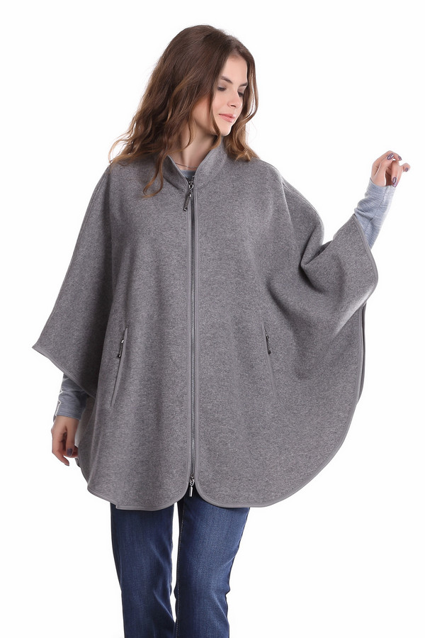 Пальто Gerry WeberПальто<br><br><br>Размер RU: 50-52<br>Пол: Женский<br>Возраст: Взрослый<br>Материал: полиамид 35%, шерсть 65%<br>Цвет: Серый