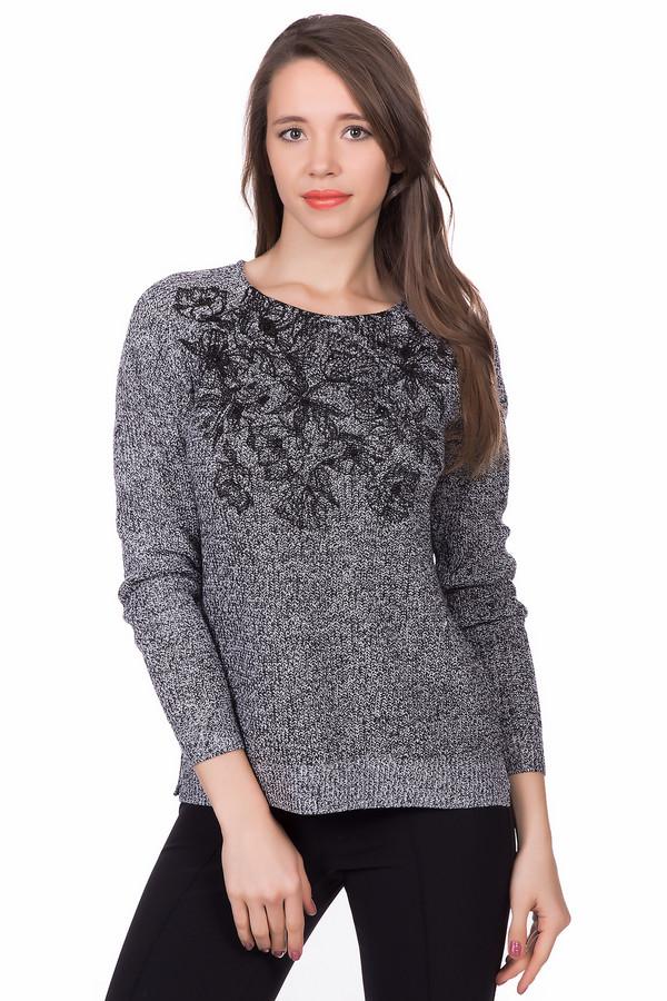 Пуловер Betty BarclayПуловеры<br><br><br>Размер RU: 48<br>Пол: Женский<br>Возраст: Взрослый<br>Материал: полиакрил 100%<br>Цвет: Чёрный