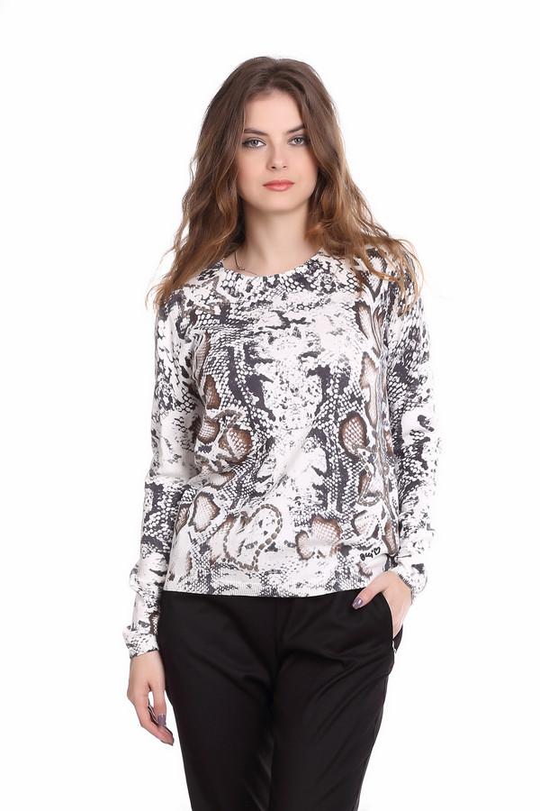 Пуловер OuiПуловеры<br><br><br>Размер RU: 44<br>Пол: Женский<br>Возраст: Взрослый<br>Материал: хлопок 100%<br>Цвет: Разноцветный