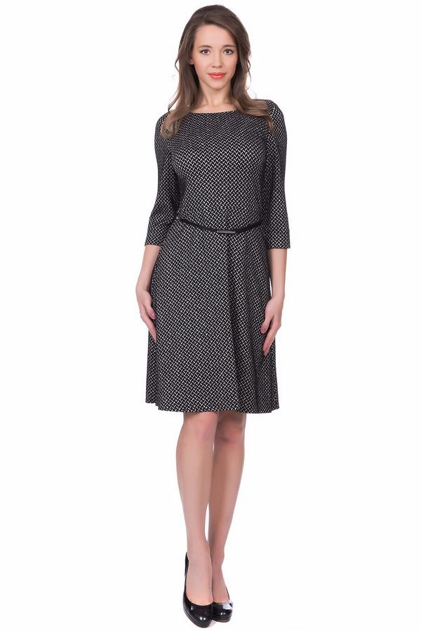 женское платье с рукавом 3/4 betty barclay, серое