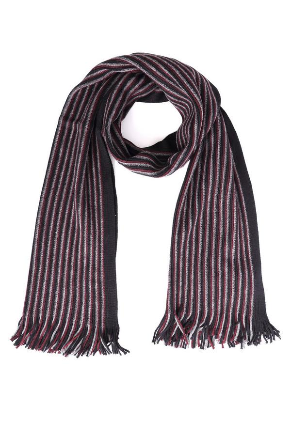 мужской шарф pezzo, разноцветный