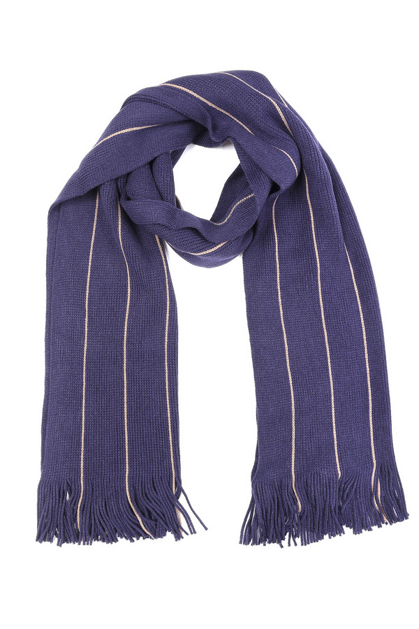 мужской шарф pezzo, бежевый