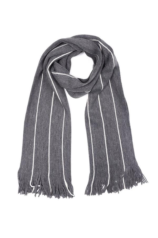 мужской шарф pezzo, белый