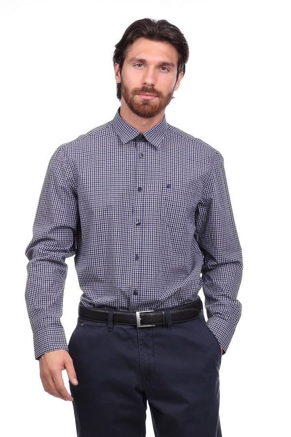 Рубашка с длинным рукавом LerrosДлинный рукав<br><br><br>Размер RU: 43-44<br>Пол: Мужской<br>Возраст: Взрослый<br>Материал: хлопок 100%<br>Цвет: Белый