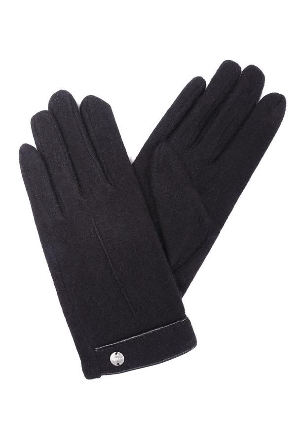 Перчатки PezzoПерчатки<br><br><br>Размер RU: 8<br>Пол: Женский<br>Возраст: Взрослый<br>Материал: шерсть 70%, ангора 10%, акрил 20%<br>Цвет: Чёрный