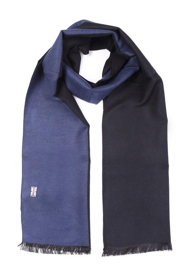 мужской шарф pezzo, синий