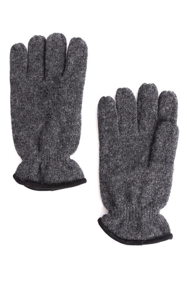 Перчатки PezzoПерчатки<br><br><br>Размер RU: один размер<br>Пол: Мужской<br>Возраст: Взрослый<br>Материал: шерсть 85%, нейлон 15%, Состав_подкладка полиэстер 100%<br>Цвет: Серый