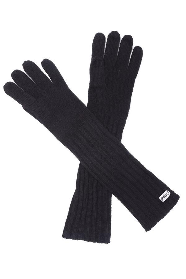 Перчатки PezzoПерчатки<br><br><br>Размер RU: один размер<br>Пол: Женский<br>Возраст: Взрослый<br>Материал: шерсть 100%<br>Цвет: Чёрный