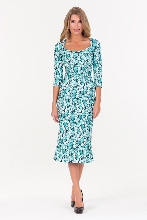 Платье XARIZMASПлатья<br><br><br>Размер RU: 42<br>Пол: Женский<br>Возраст: Взрослый<br>Материал: полиэстер 97%, эластан 3%<br>Цвет: Разноцветный
