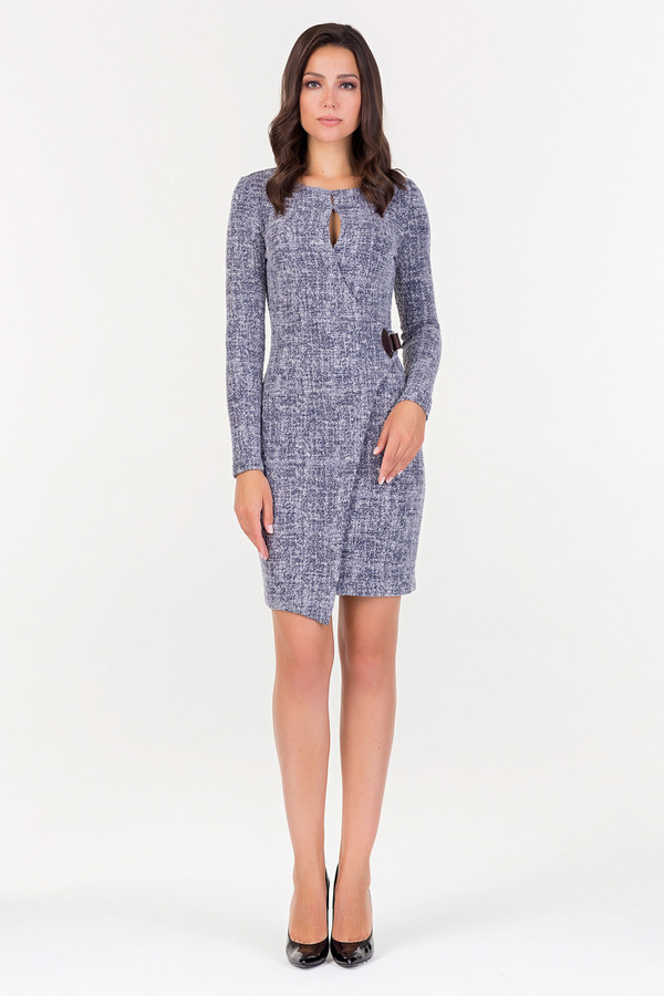 Платье XARIZMASПлатья<br><br><br>Размер RU: 46<br>Пол: Женский<br>Возраст: Взрослый<br>Материал: эластан 3%, хлопок 53%, полиэстер 44%<br>Цвет: Серый