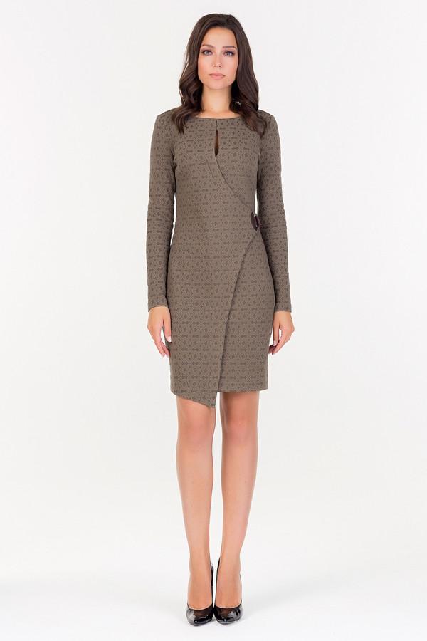 Платье XARIZMASПлатья<br><br><br>Размер RU: 42<br>Пол: Женский<br>Возраст: Взрослый<br>Материал: эластан 3%, хлопок 53%, полиэстер 44%<br>Цвет: Коричневый