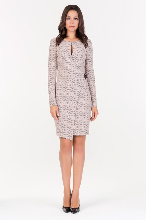 Платье XARIZMASПлатья<br><br><br>Размер RU: 42<br>Пол: Женский<br>Возраст: Взрослый<br>Материал: эластан 3%, хлопок 53%, полиэстер 44%<br>Цвет: Бежевый