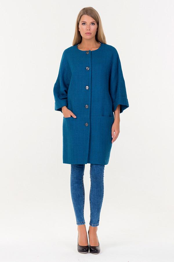 Пальто XARIZMASПальто<br><br><br>Размер RU: 44<br>Пол: Женский<br>Возраст: Взрослый<br>Материал: полиэстер 26%, вискоза 10%, хлопок 64%<br>Цвет: Голубой