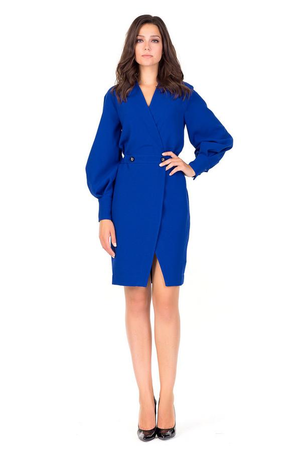 Платье XARIZMASПлатья<br><br><br>Размер RU: 44<br>Пол: Женский<br>Возраст: Взрослый<br>Материал: полиэстер 80%, вискоза 20%<br>Цвет: Синий