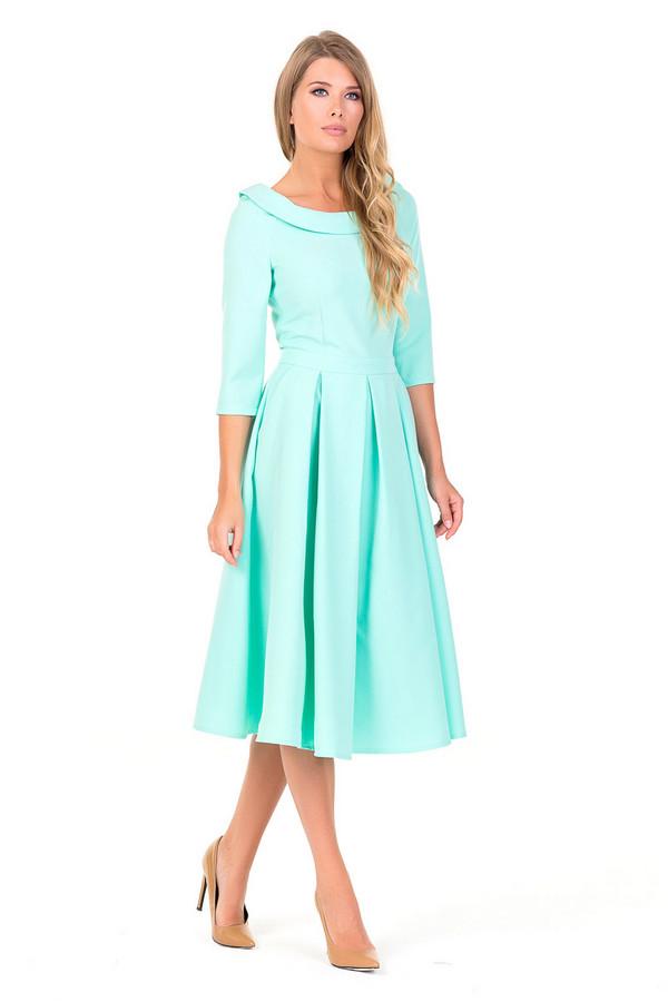 Платье XARIZMASПлатья<br><br><br>Размер RU: 42<br>Пол: Женский<br>Возраст: Взрослый<br>Материал: полиэстер 94%, спандекс 6%<br>Цвет: Голубой