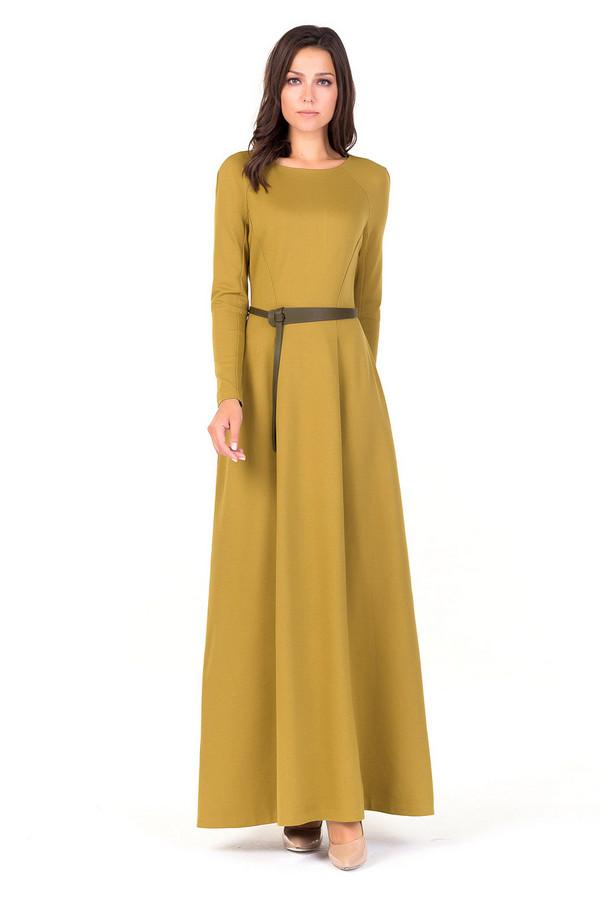 Платье XARIZMASПлатья<br><br><br>Размер RU: 42<br>Пол: Женский<br>Возраст: Взрослый<br>Материал: эластан 5%, полиэстер 35%, вискоза 60%<br>Цвет: Жёлтый