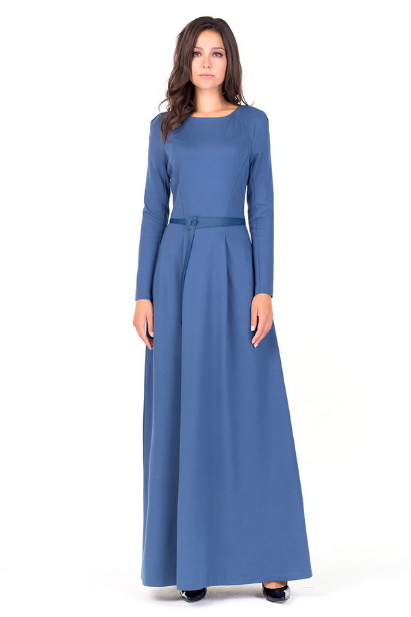 Платье XARIZMASПлатья<br><br><br>Размер RU: 42<br>Пол: Женский<br>Возраст: Взрослый<br>Материал: эластан 5%, полиэстер 35%, вискоза 60%<br>Цвет: Синий