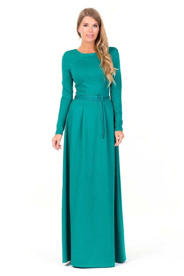 Платье XARIZMASПлатья<br><br><br>Размер RU: 46<br>Пол: Женский<br>Возраст: Взрослый<br>Материал: эластан 5%, полиэстер 35%, вискоза 60%<br>Цвет: Зелёный