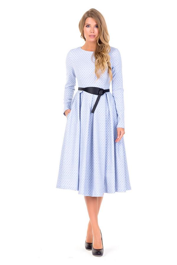 Платье XARIZMASПлатья<br><br><br>Размер RU: 48<br>Пол: Женский<br>Возраст: Взрослый<br>Материал: полиэстер 60%, эластан 2%, вискоза 38%<br>Цвет: Голубой