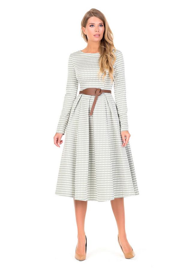 Платье XARIZMASПлатья<br><br><br>Размер RU: 48<br>Пол: Женский<br>Возраст: Взрослый<br>Материал: полиэстер 60%, эластан 2%, вискоза 38%<br>Цвет: Белый
